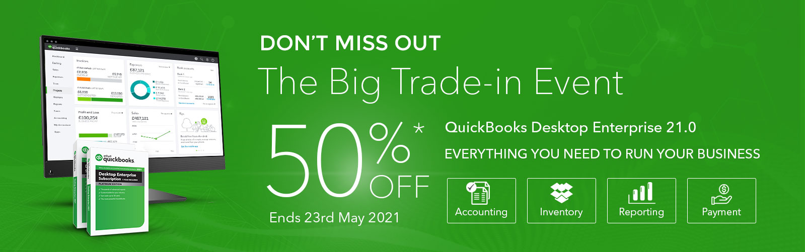 The Big Trade-In Event - Save up to 50%*