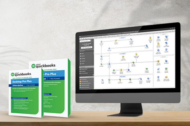 QuickBooks Desktop Pro Plus: <br> Start your business with a Pro Software.